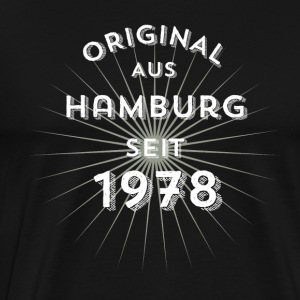 Original from Hamburg since 1978 - Men's Premium T-Shirt