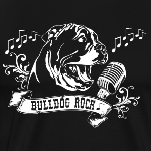 English Bulldog Rock - Männer Premium T-Shirt