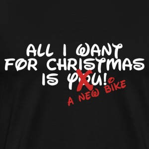 Bike - Christmas - Herre premium T-shirt