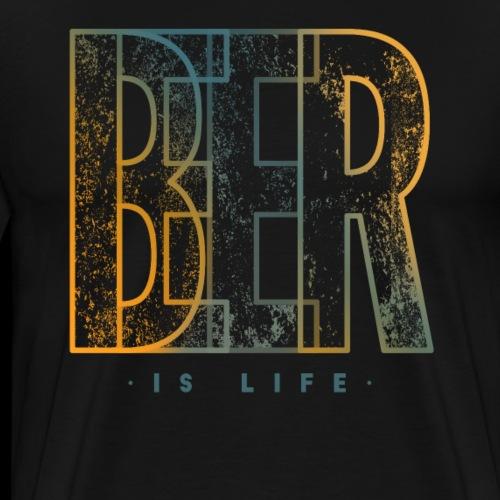 Craft Bier Leben Lifestyle Cool Brauer Hobbybrauer - Männer Premium T-Shirt