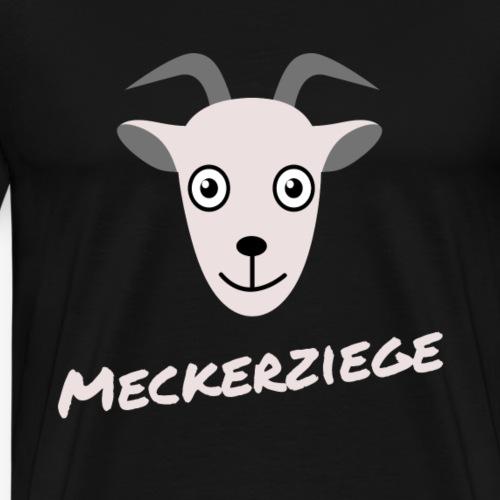 Meckerziege - Männer Premium T-Shirt