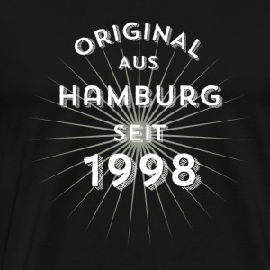 Original from Hamburg since 1998 - Men's Premium T-Shirt