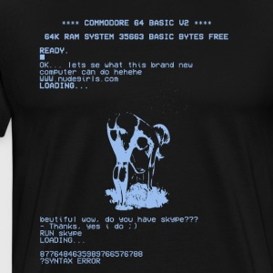 c64big - Herre premium T-shirt