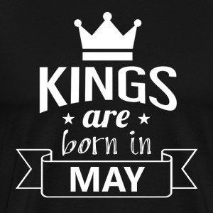 Kings are born in the MAI - Men's Premium T-Shirt