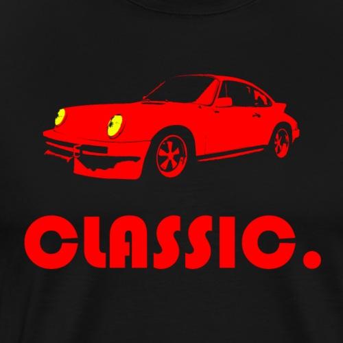 CLASSIC. rot - Männer Premium T-Shirt