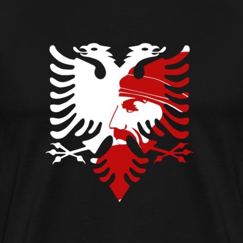 albanische doppelkopfadler t-shirt albanien adler - Männer Premium T-Shirt