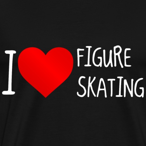 I Love Figure Skating 2 - Männer Premium T-Shirt