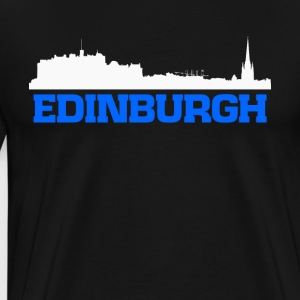 Edinburgh Scotland skyline tee - Men's Premium T-Shirt