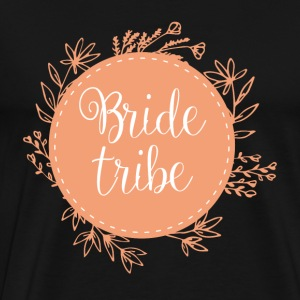 JGA / Bachelor: Bride Tribe - Premium T-skjorte for menn