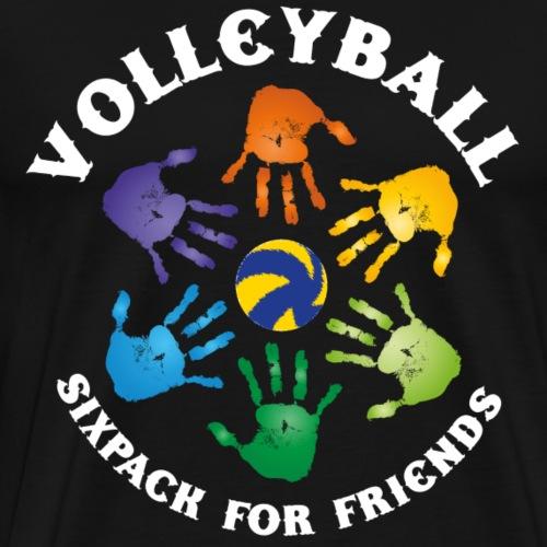 VolleyBall (Sixpack-Edition) - Männer Premium T-Shirt
