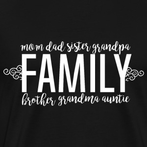 Family Love - Family - Premium T-skjorte for menn