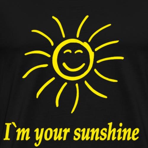 Gelbi m youre sunshine Gelb - Männer Premium T-Shirt