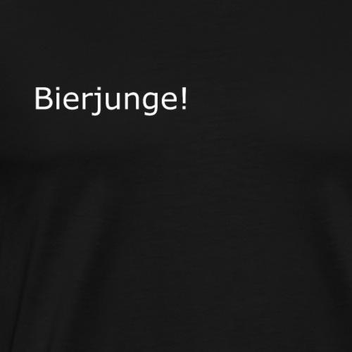 bierjunge - Männer Premium T-Shirt