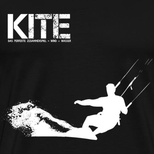KITEBOARDING GESCHENK - Männer Premium T-Shirt