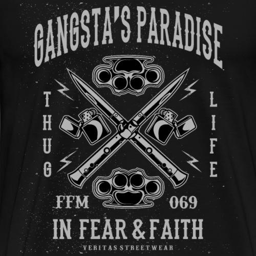 Gangstas Paradise Frankfurt - Männer Premium T-Shirt