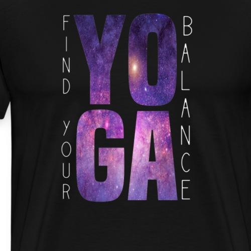 YOGA - Find Yor Balance - Männer Premium T-Shirt