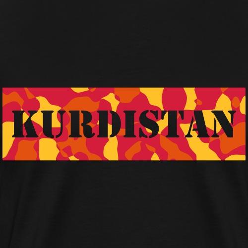 KURDISTAN / KURD - CAMO / CAMOUFLAGE - Männer Premium T-Shirt