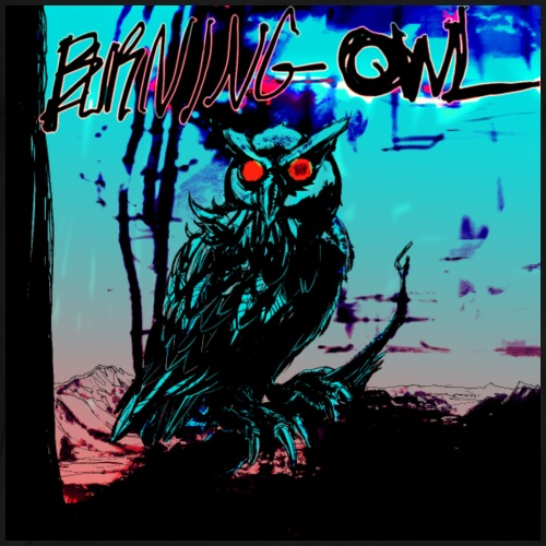 Burning Owl Records - Men's Premium T-Shirt