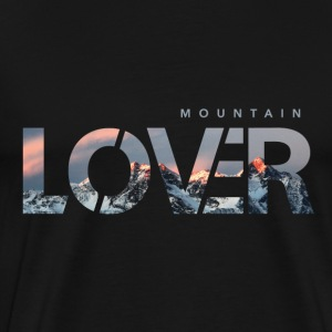 Mountain Lover - Premium-T-shirt herr