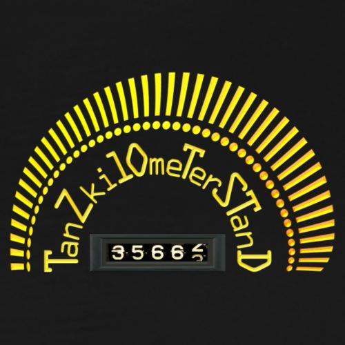 Tanzen : Tanzkilometerstand - Männer Premium T-Shirt