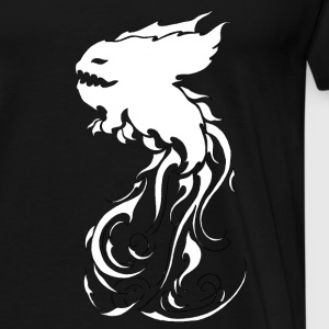 KromysflameWight - T-shirt Premium Homme