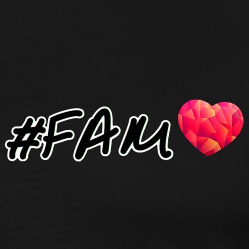 Für die Fam! - Männer Premium T-Shirt