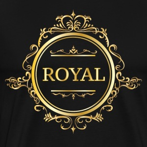 Just Be Royal. - Herre premium T-shirt