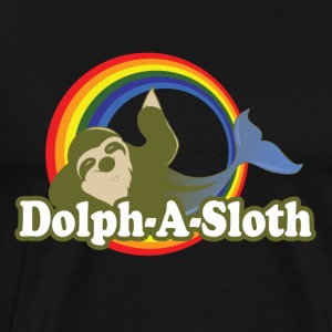 Dolph-A-Sloth Mystique Creature - Premium T-skjorte for menn