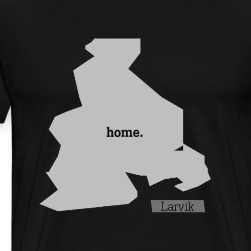Hjemby Larvik - Premium T-skjorte for menn
