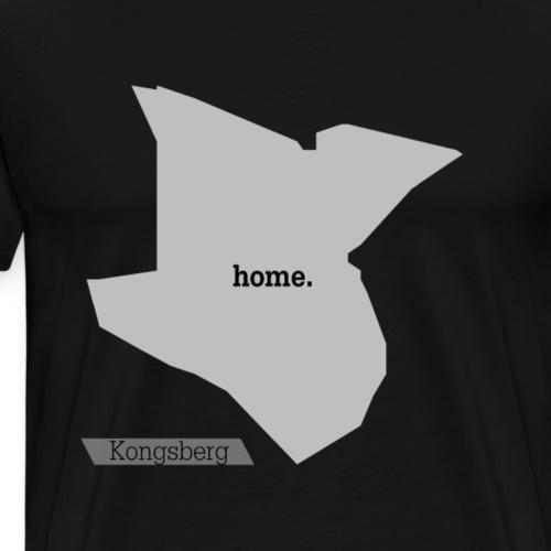 Hjemby Kongsberg - Premium T-skjorte for menn