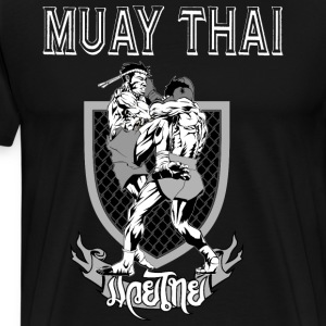 Muay Thai - Premium T-skjorte for menn