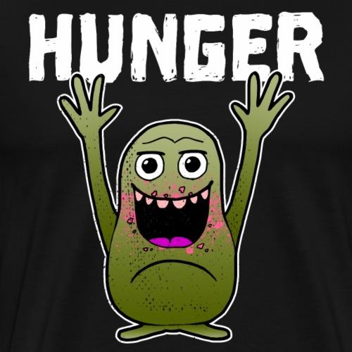 Hunger Monster Essen Eltern Kind Geschenk - Männer Premium T-Shirt