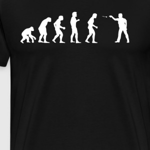 Evolution Dart - Männer Premium T-Shirt