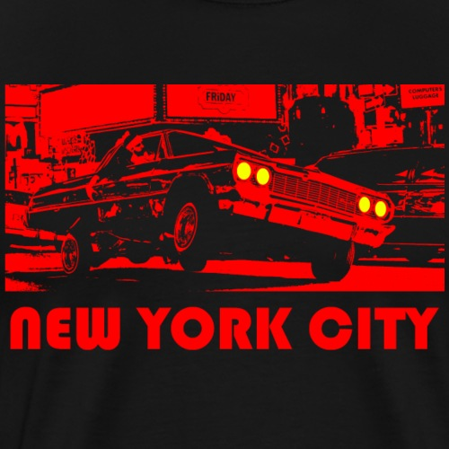 NEW YORK CITY rot - Männer Premium T-Shirt