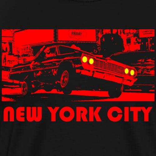 NEW YORK CITY rot - Männer Premium T-Shirt
