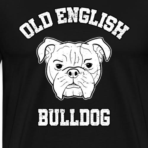 OEB Bollerkopf Bulldogge Hund EB Rüpel Geschenk - Männer Premium T-Shirt