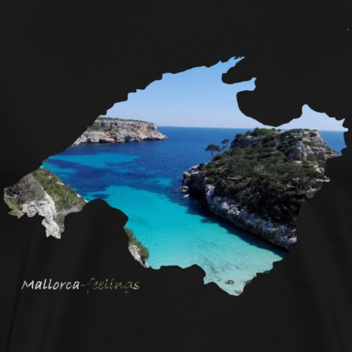Mallorca-feelings Bucht - Männer Premium T-Shirt