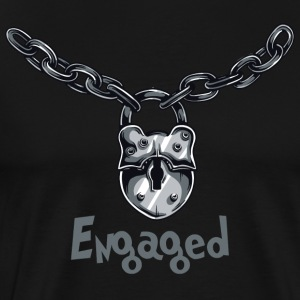 engasjert Chained - Premium T-skjorte for menn