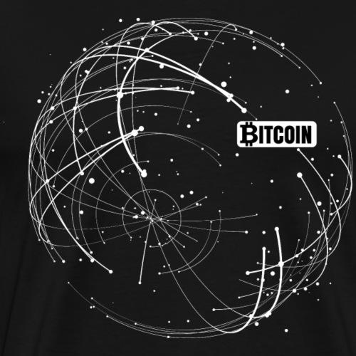 Bitcoin Blockchain - Männer Premium T-Shirt