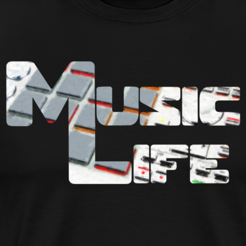 Music Life - T-shirt Premium Homme