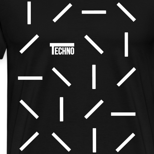 Techno Lines - Men's Premium T-Shirt