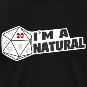 I'm A Natural 20 - Men's Premium T-Shirt