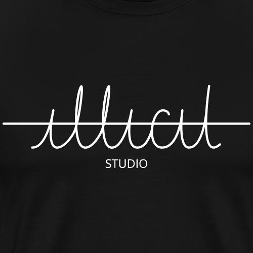 ILLICIT LOGO Studio white - Männer Premium T-Shirt