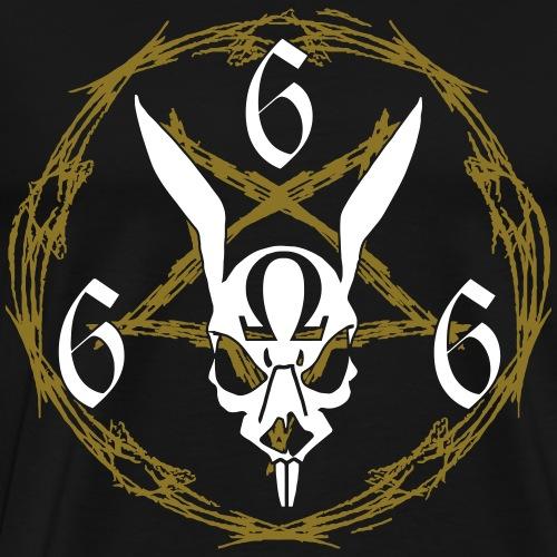 Rabbit 666 - Maglietta Premium da uomo