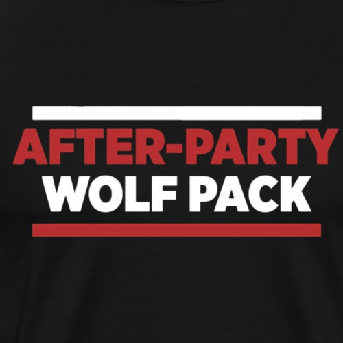 OFFICIAL AFTER-PARTY WOLFPACK MERCH - Men's Premium T-Shirt