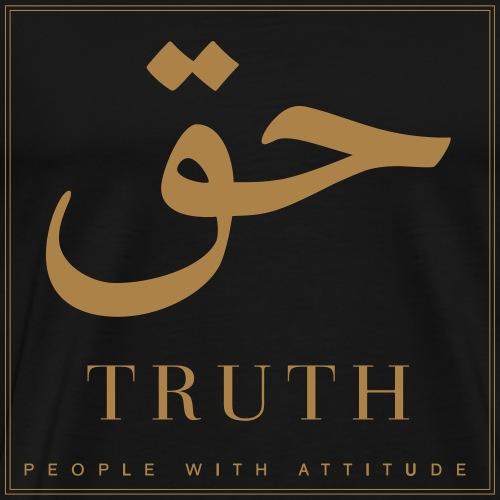 Truth - Mannen Premium T-shirt