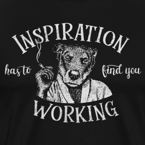 Inspiration - Premium-T-shirt herr