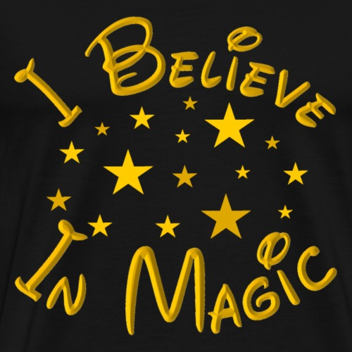 I Believe In Magic - Men's Premium T-Shirt