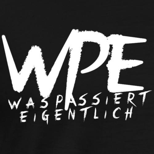 WPE + Schrift - Männer Premium T-Shirt