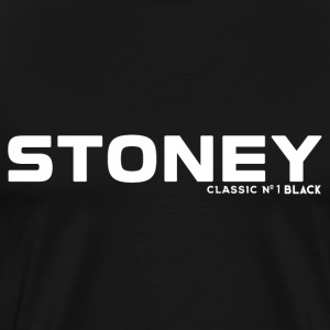 STONEY Classic No.1 BLACK - Männer Premium T-Shirt